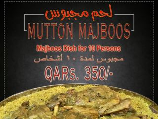Meat Majboos