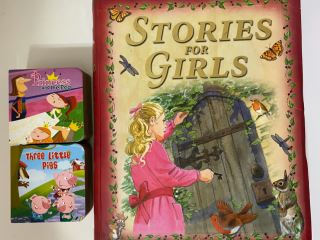 Stories for girls big book+two fairytale stories