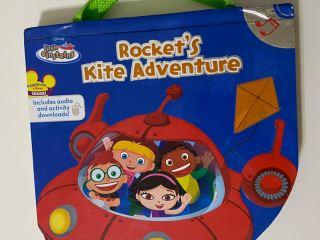 disney little einsteins rockets kite adventure audiobook with cd