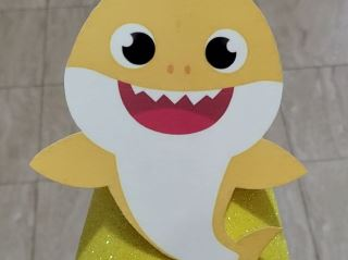 baby shark birthday cap