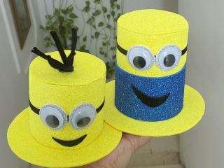 minion hair accessories