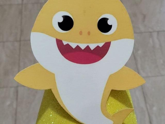 baby shark birthday cap