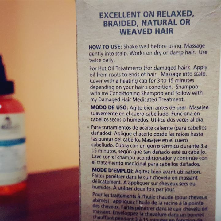 Dr Miracles Gro Oil