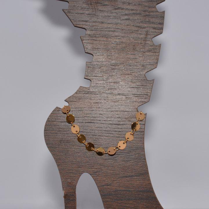 Anklet gold plated خلخال مطلى ذهب