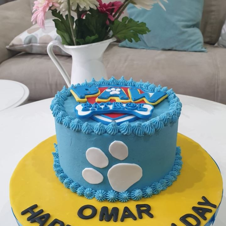 Paw Patrol Custom Cake