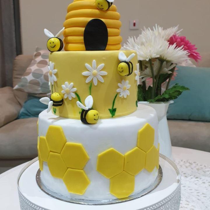 كيكة خلية النحل