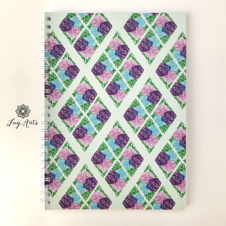 watercolor Roses Notebook