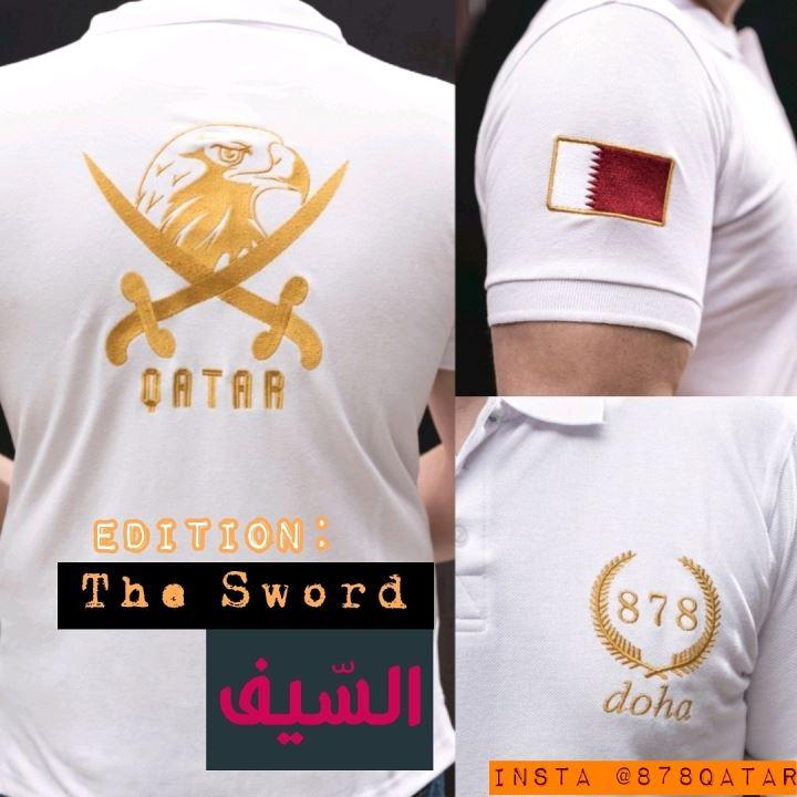Premium Polo Shirt (The Sword)