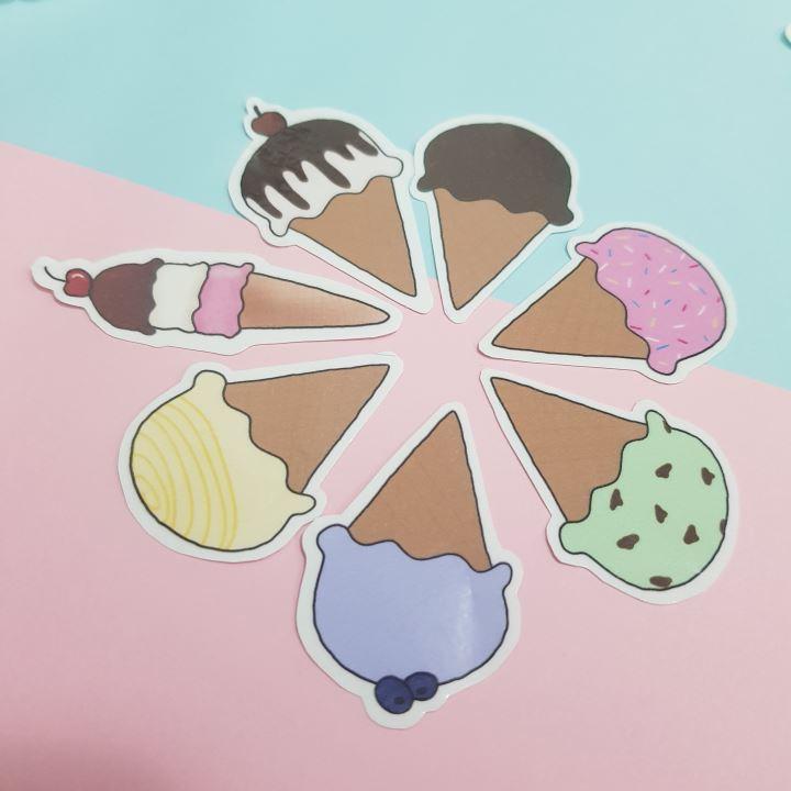 icecream stickers