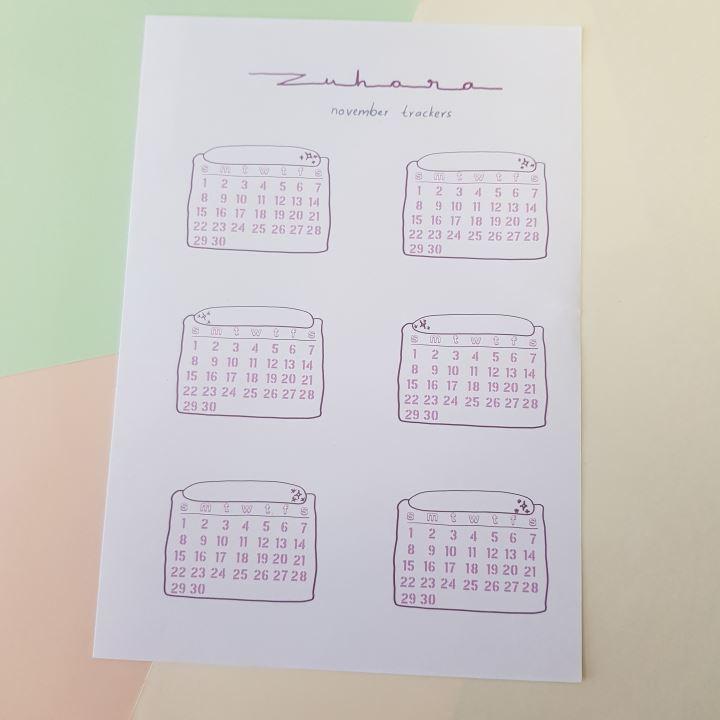 habit tracker sticker sheet