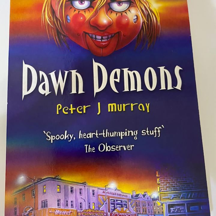 Goosebumps Horrorland book +Dawn Demon book Horror set